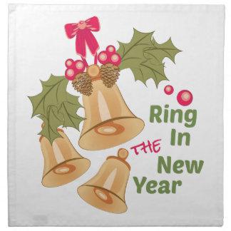 新年のリング ナプキンクロス
