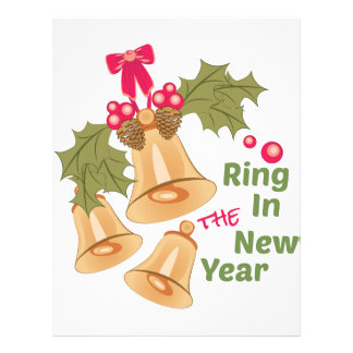 新年のリング レターヘッド