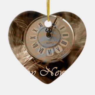 新年の時計#2 セラミックオーナメント