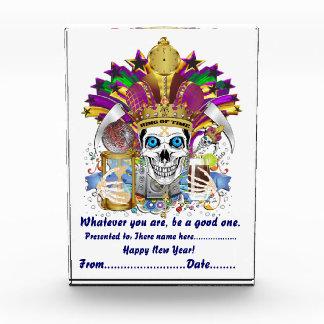 新年の父の時間どの年の眺めでも注意します 表彰盾