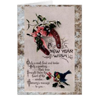新年の願い カード
