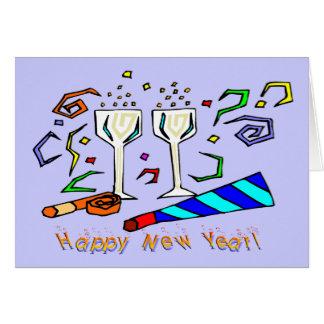 新年の騒音メーカー カード