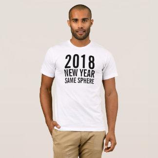 新年同じ球 Tシャツ