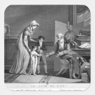 新年1807年 スクエアシール