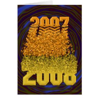 新年2008年 カード