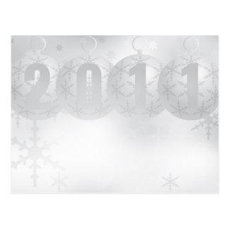 新年2011年 ポストカード