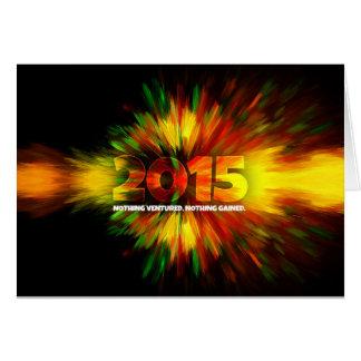 新年2015年 カード