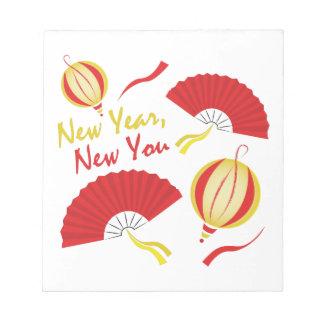 新年 ノートパッド
