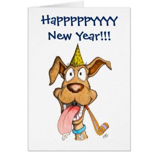 新年: 犬(ブームブーム) カード