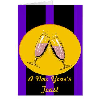 """新年"""" sのトースト カード"""