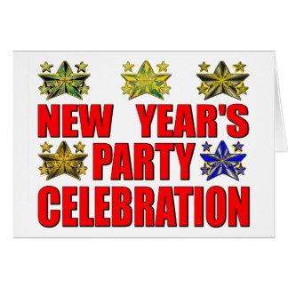 """新年"""" sのパーティー カード"""