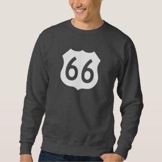 新式のルート66の印- スウェットシャツ