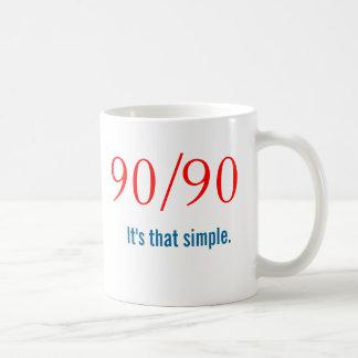 新来者90/90のスローガン-オウムNA コーヒーマグカップ
