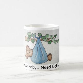 新生児か。 コーヒーマグカップ