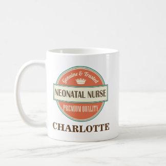 新生児のナースの名前入りなオフィスのマグのギフト コーヒーマグカップ