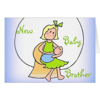 新生児の兄弟 カード