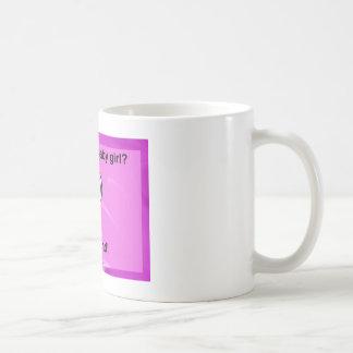 新生児の女の子 コーヒーマグカップ