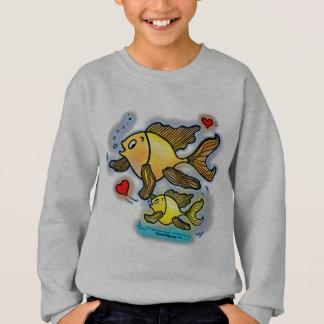 新生児の魚 スウェットシャツ