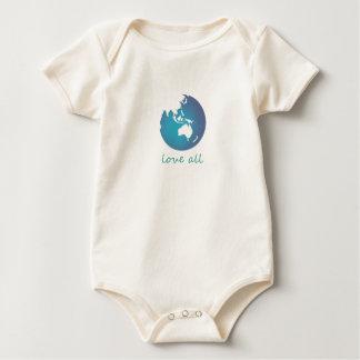 新生児愛すべて ベビーボディスーツ