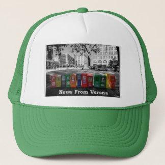 新聞雑誌売店の帽子 キャップ