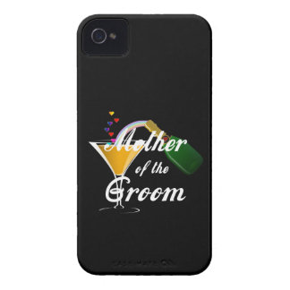 新郎のシャンペンのトーストの母 Case-Mate iPhone 4 ケース