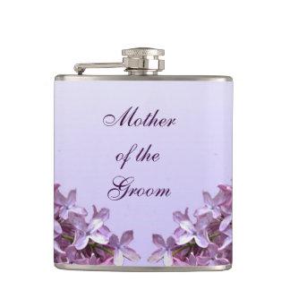 新郎の母を結婚する花の薄紫の花 フラスク