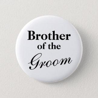 新郎ボタンのエレガントな兄弟 5.7CM 丸型バッジ