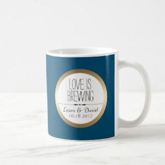 新郎新婦のカスタムのコーヒー コーヒーマグカップ
