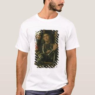新郎(油)を持つ戦士 Tシャツ