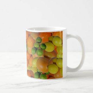 新鮮な果物 コーヒーマグカップ