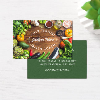 新鮮な野菜の名刺 名刺