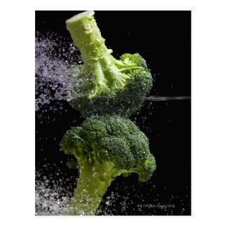 新鮮な野菜及び食品衛生 ポストカード