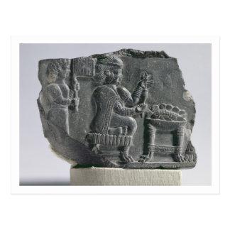 、新Elamite期間回っている、Elamiteの女性c.700- ポストカード