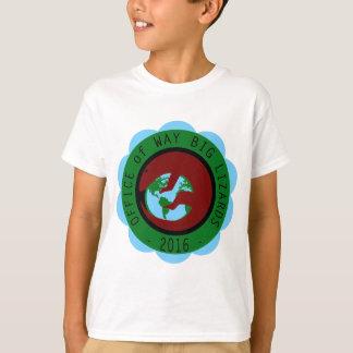 方法大きいトカゲの部門 Tシャツ