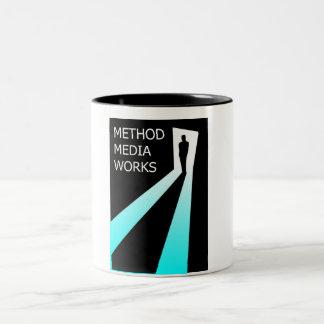 方法媒体の仕事 ツートーンマグカップ
