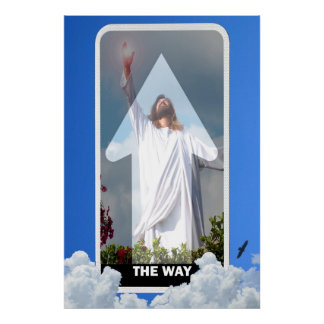 方法! イエス・キリスト天国ポスターへのony方法 ポスター