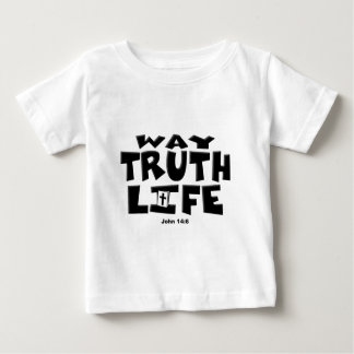 方法、真実、生命 ベビーTシャツ