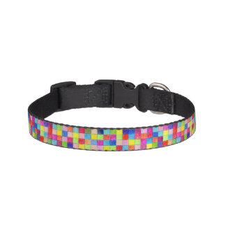 方眼紙の正方形で着色される ペット首輪
