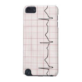 方眼紙のEKGの心拍、PhD (医者)の脈拍 iPod Touch 5G ケース
