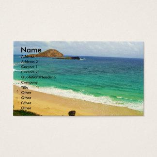 旅行および観光事業の名刺 名刺