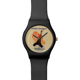 旅行のエッフェルのloterieのnationale 腕時計