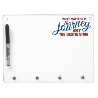 旅行のカスタムな伝言板 キーホルダーフック付きホワイトボード