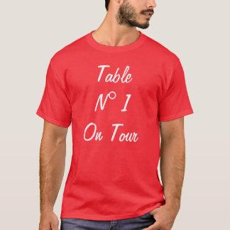 旅行のテーブルN 1 Tシャツ