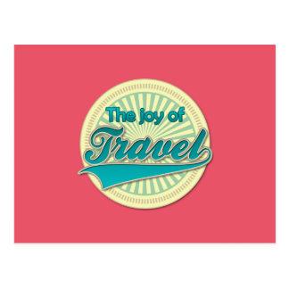 旅行の喜び ポストカード