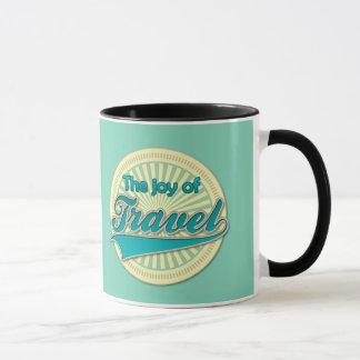 旅行の喜び マグカップ