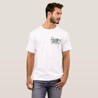 旅行の境界の高度のプロフィールのTシャツ Tシャツ
