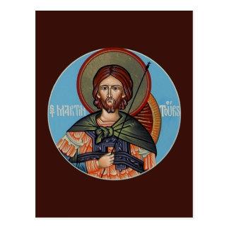 旅行の祈りの言葉カードのセントマーチン ポストカード