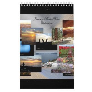 旅行の背部家の感動的な壁掛けカレンダー カレンダー
