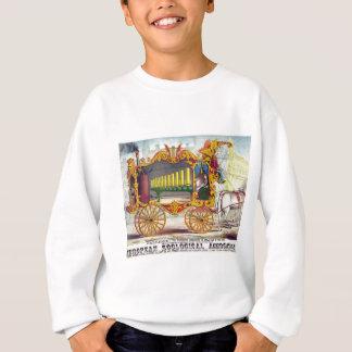 旅行の蒸気器官 スウェットシャツ
