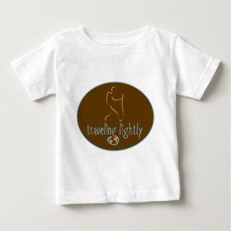 旅行の軽Wanderlust ベビーTシャツ